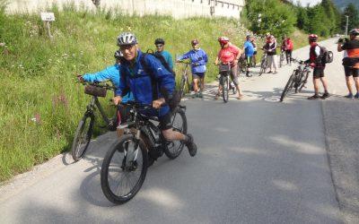 """""""Radln mit Sepp"""" 3. Juli 2018 zur Prechtlalm in Flachauwinkl"""