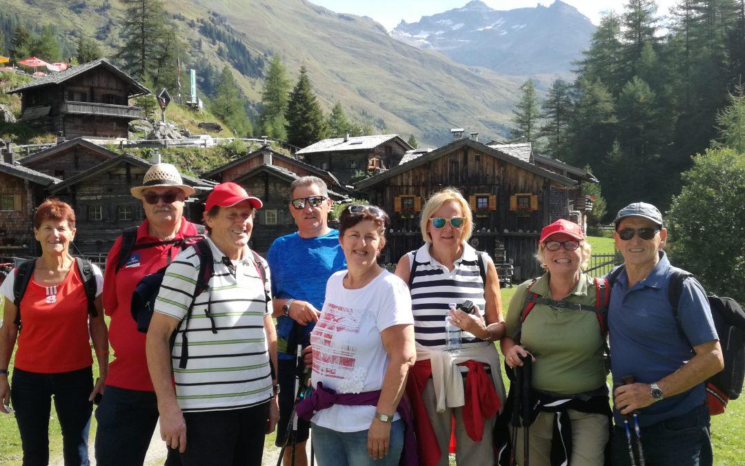 Tagesausflug mit Wanderung ins Gschlößtal Donnerstag 06. September 2018
