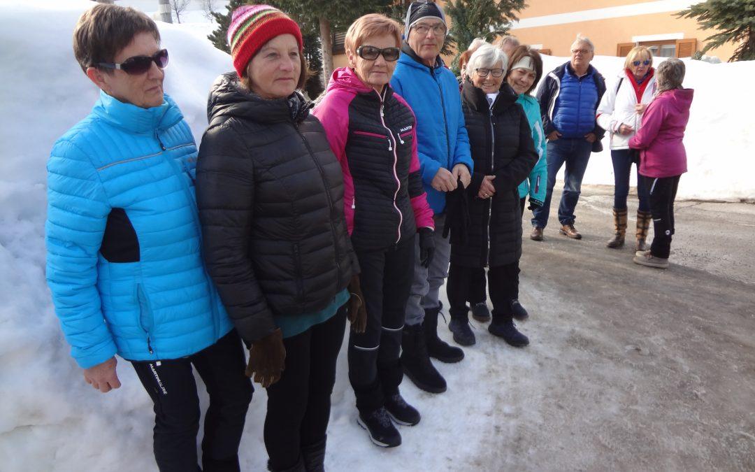 Winterwanderung zum Gasthof Schichlreit, Mittwoch 20. Februar 2019
