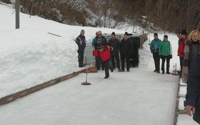 Eisstockschießen Samstag, 02. Februar, Senioren gegen Pensionisten ab 14:00 Uhr, Eisstockbahn Sportzentrum Annaberg