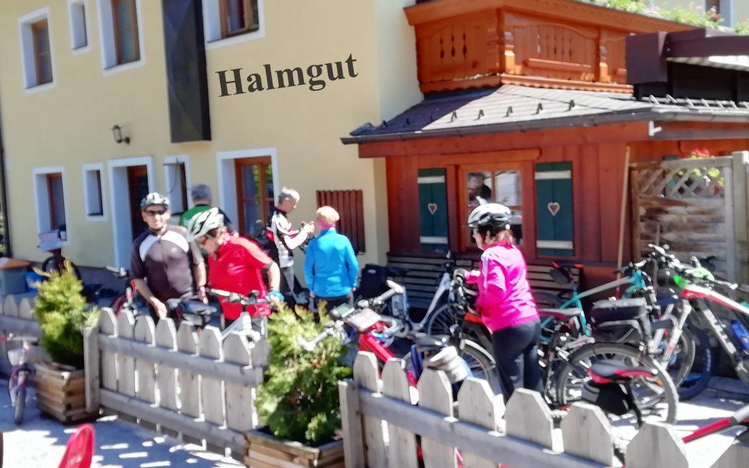 1. Radtour 2019 Freitag, 17 Mai zum Halmgut