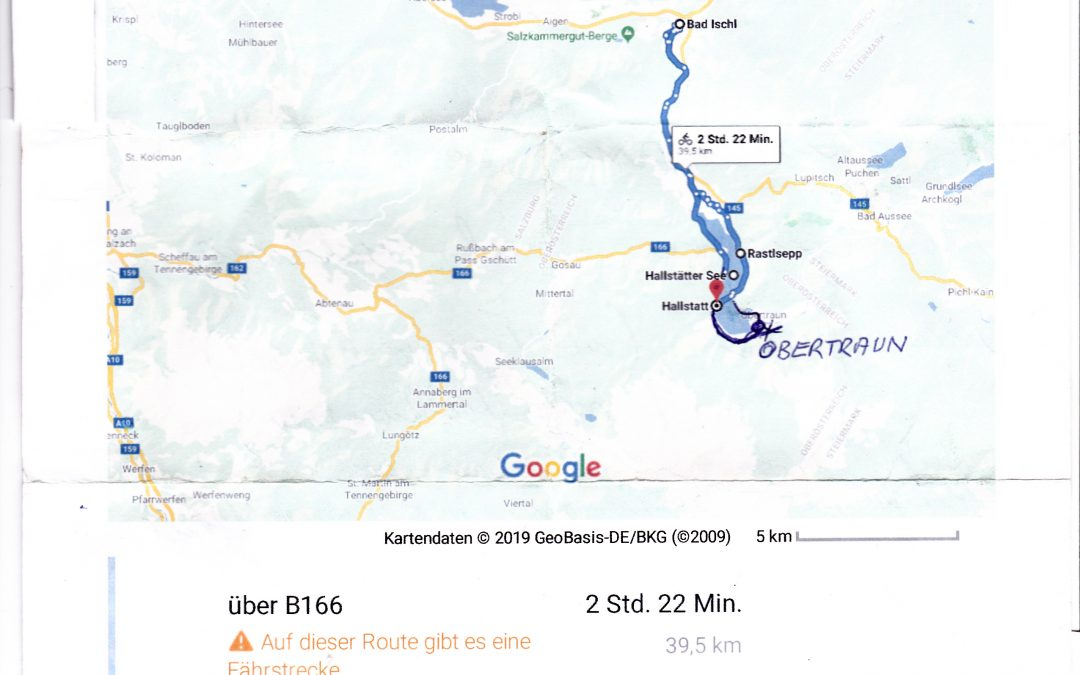2.Radtour 2019 Hallstätterseerundfahrt