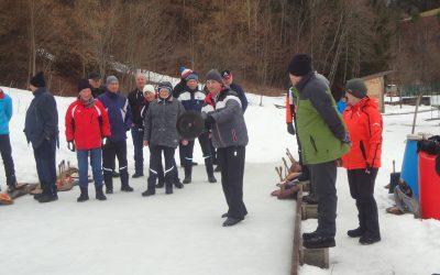 Sonntag, 2. Februar 2020 Eisstockschießen Seniorenbund gegen Pensionistenverband